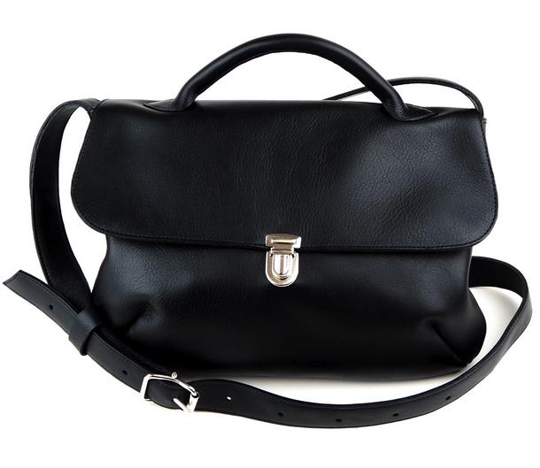 Cobblerina: iso, musta London-laukku