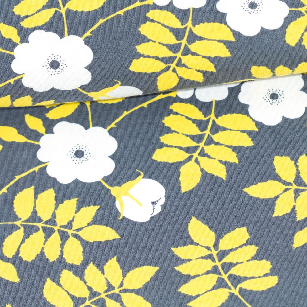 PaaPii Design: Sointu-mekko Juhannusruusu-kuosilla