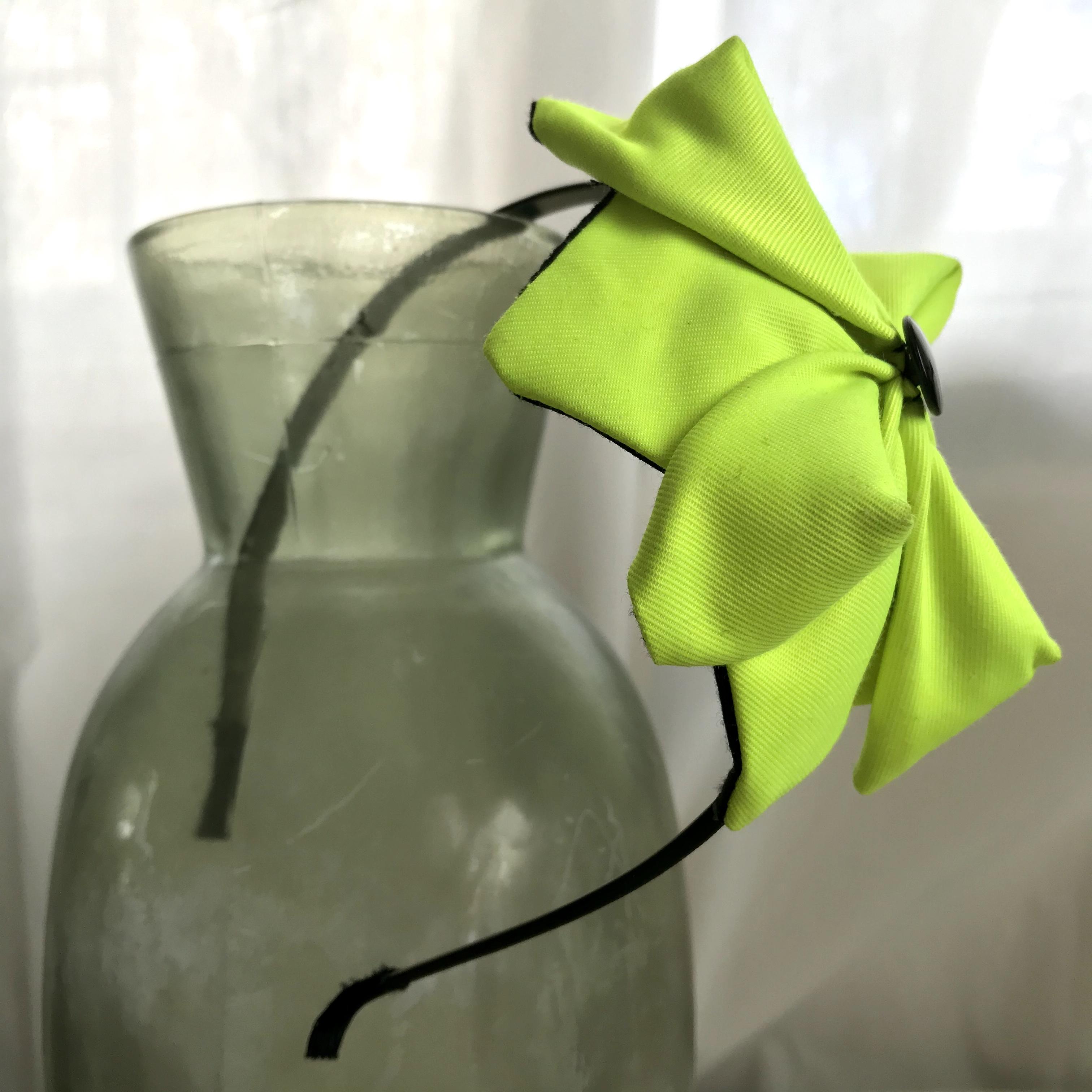 Tyra Therman: Origami-panta, neonkeltainen, ALE