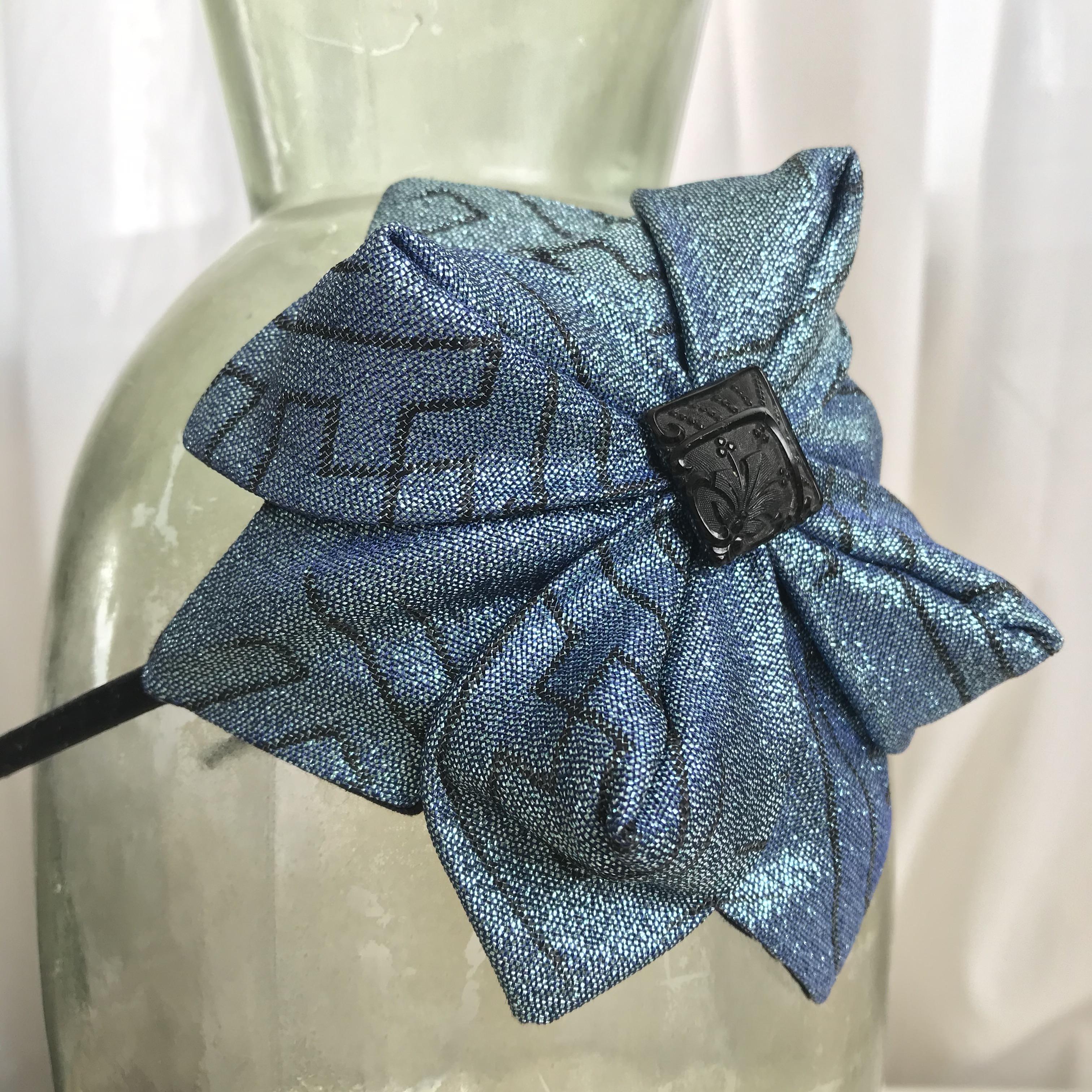 Tyra Therman: Origami-panta, sininen glitter, ALE