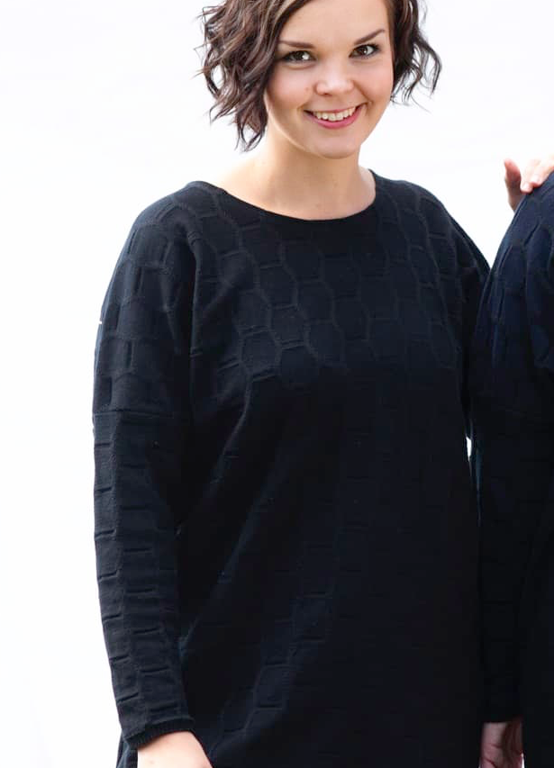 Hurmås: Kenno-tunika, musta, ALE
