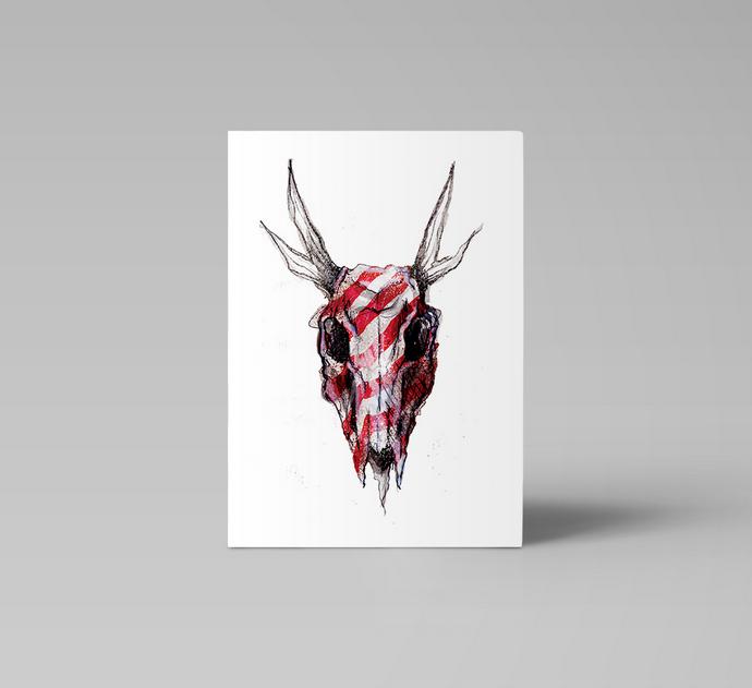 Ainoa Graphic Design: Raitakallo-kortti