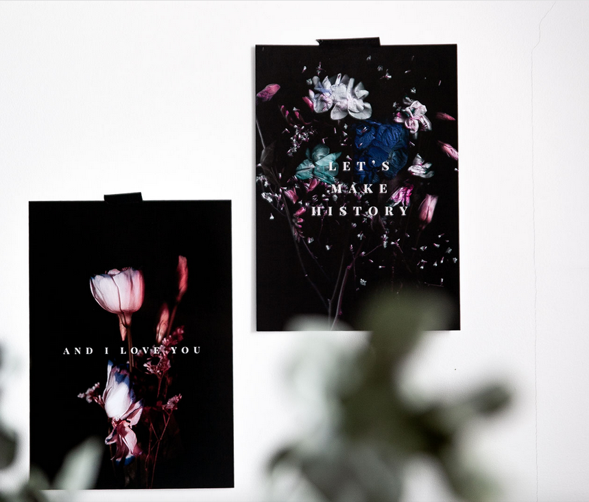 Ainoa Graphic Design: Let's Make History -juliste
