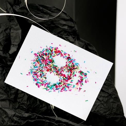 Ainoa Graphic Design: Karkkikallo-postikortti