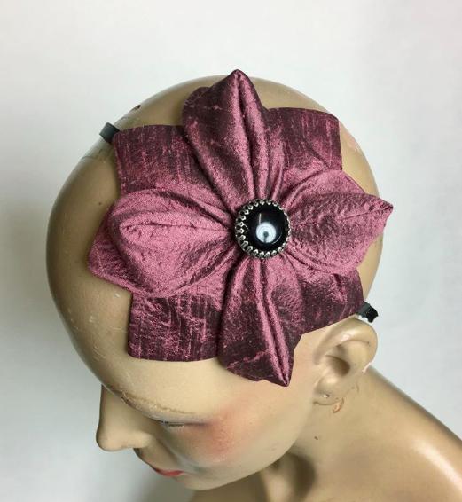 Tyra Therman: Origami-panta, marjapuuronpunainen, ALE