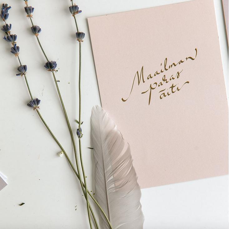 Annika Välimäki: Maailman paras äiti -kortti