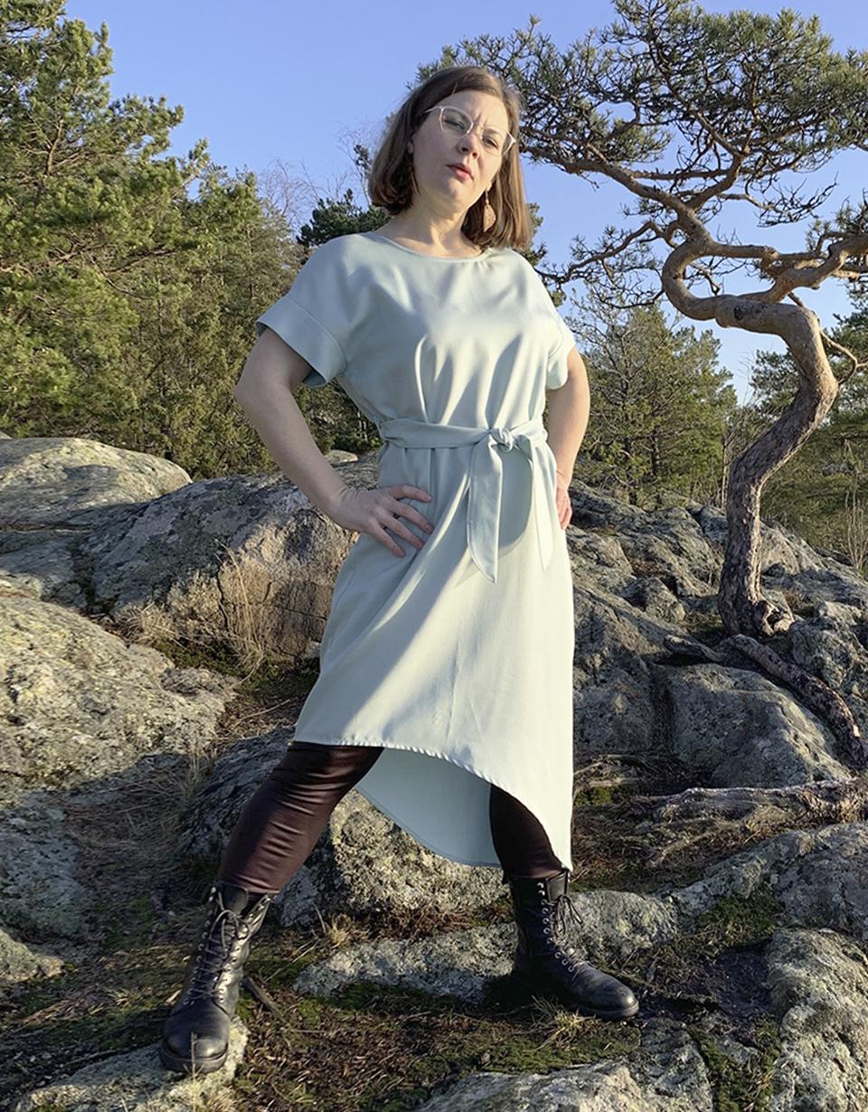 Vuurran: mintunvihreä Vellamo-mekko