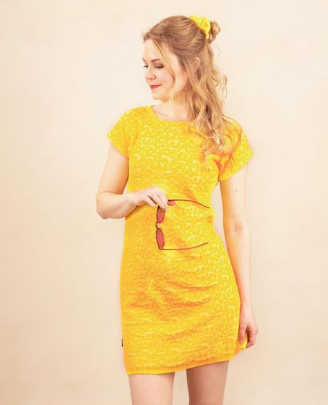 Kaino: Kisumisu-mekko, keltainen, ALE