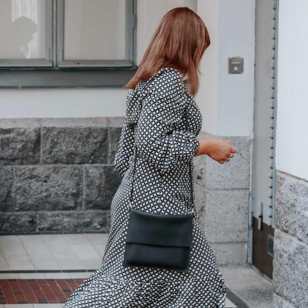 Miiko Design: Maxi Jemma -laukku, musta