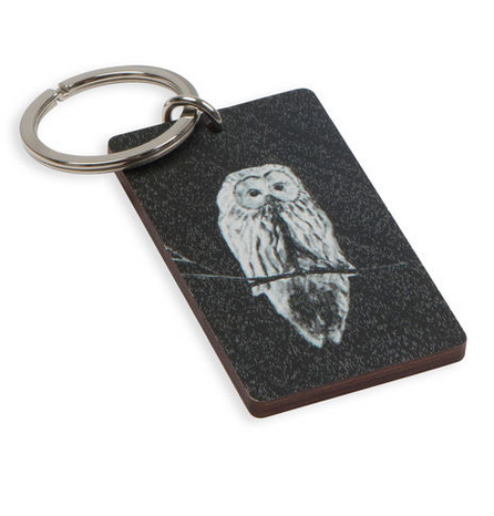 Miiko Design: Pöllö-avaimenperä