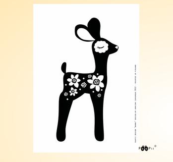 PaaPii Design: Bambi-juliste, A4
