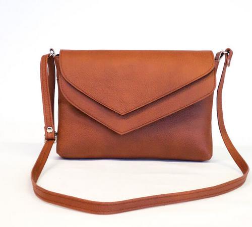 Humbugi: Busy Bag -olkalaukku, konjakinruskea