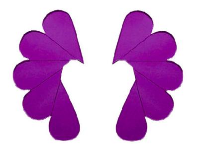 Jatuli: Cry Me a River -korvakorut, violetti