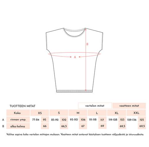 Kaino: Kisumisu-paita, lime, ALE