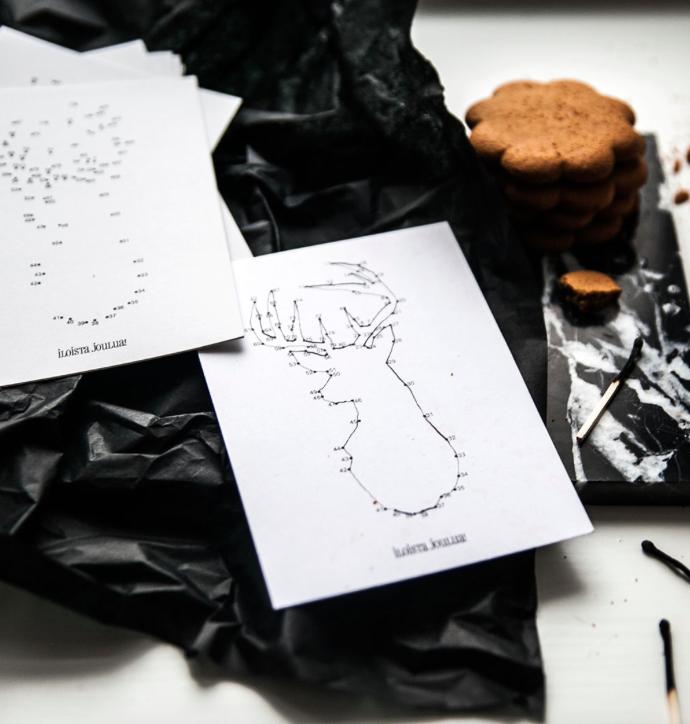 Ainoa Graphic Design: Pisteporo-kortti
