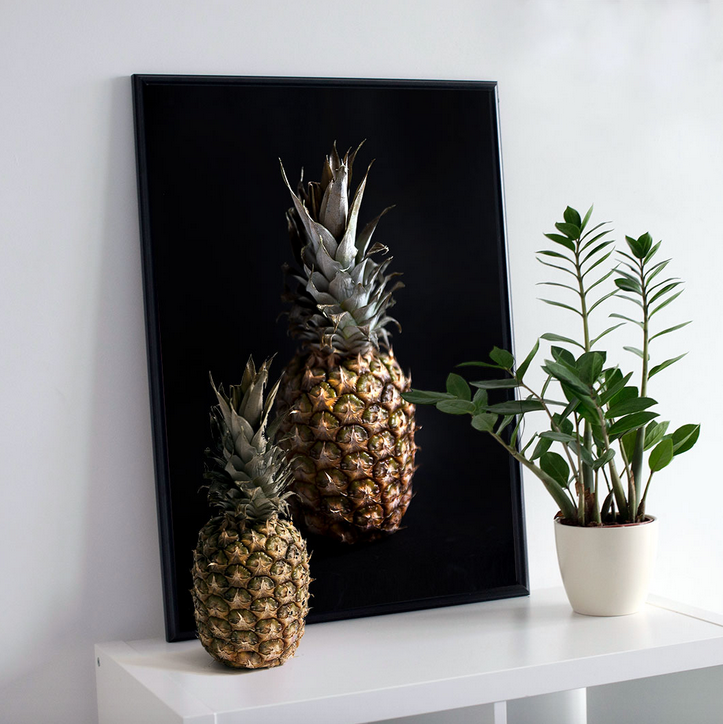 Ainoa Graphic Design: Ananas-juliste