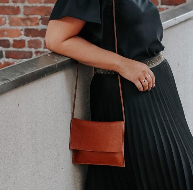Miiko Design: Jemma-laukku, ruskea