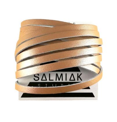 Salmiak Studio: ruusukultainen Nida-ranneke
