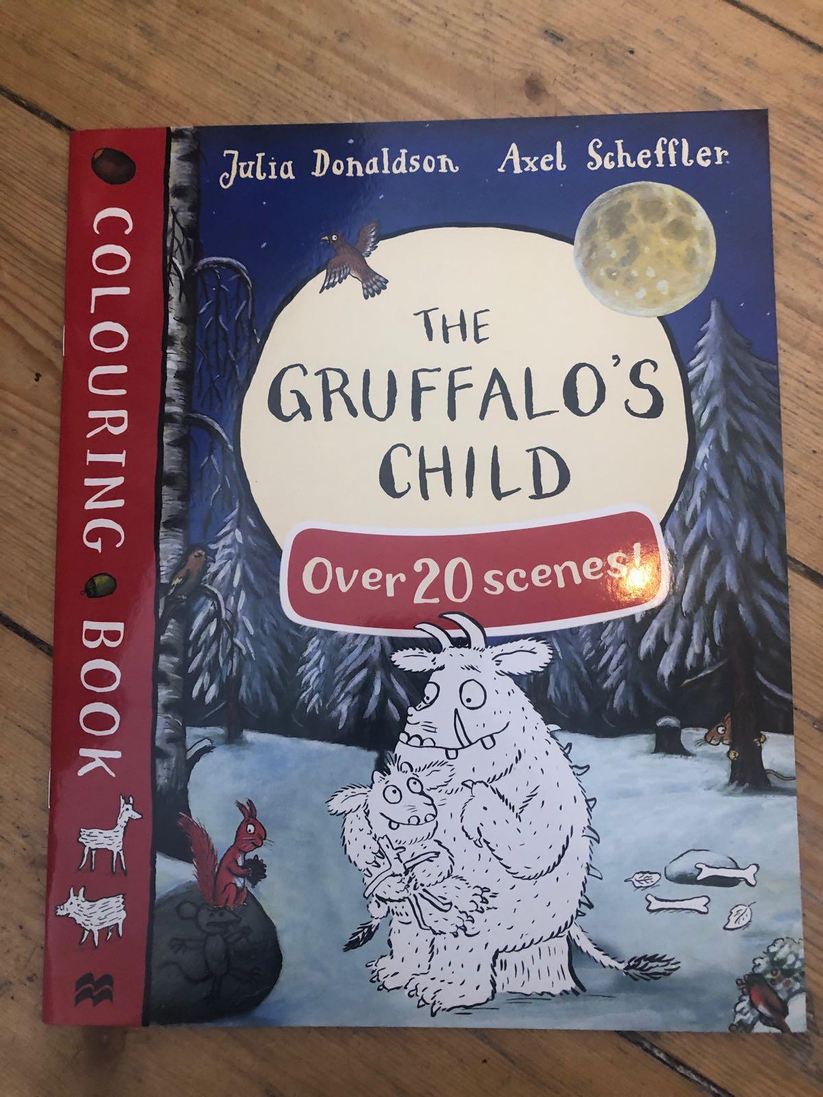 Colouring book The gruffao's child