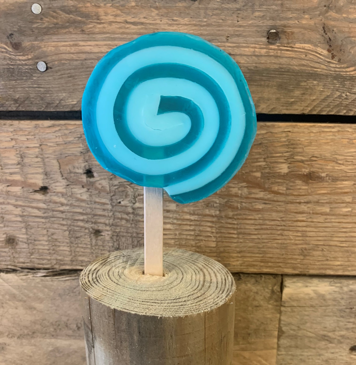 Ocean RolyPoly Lollipop Soap