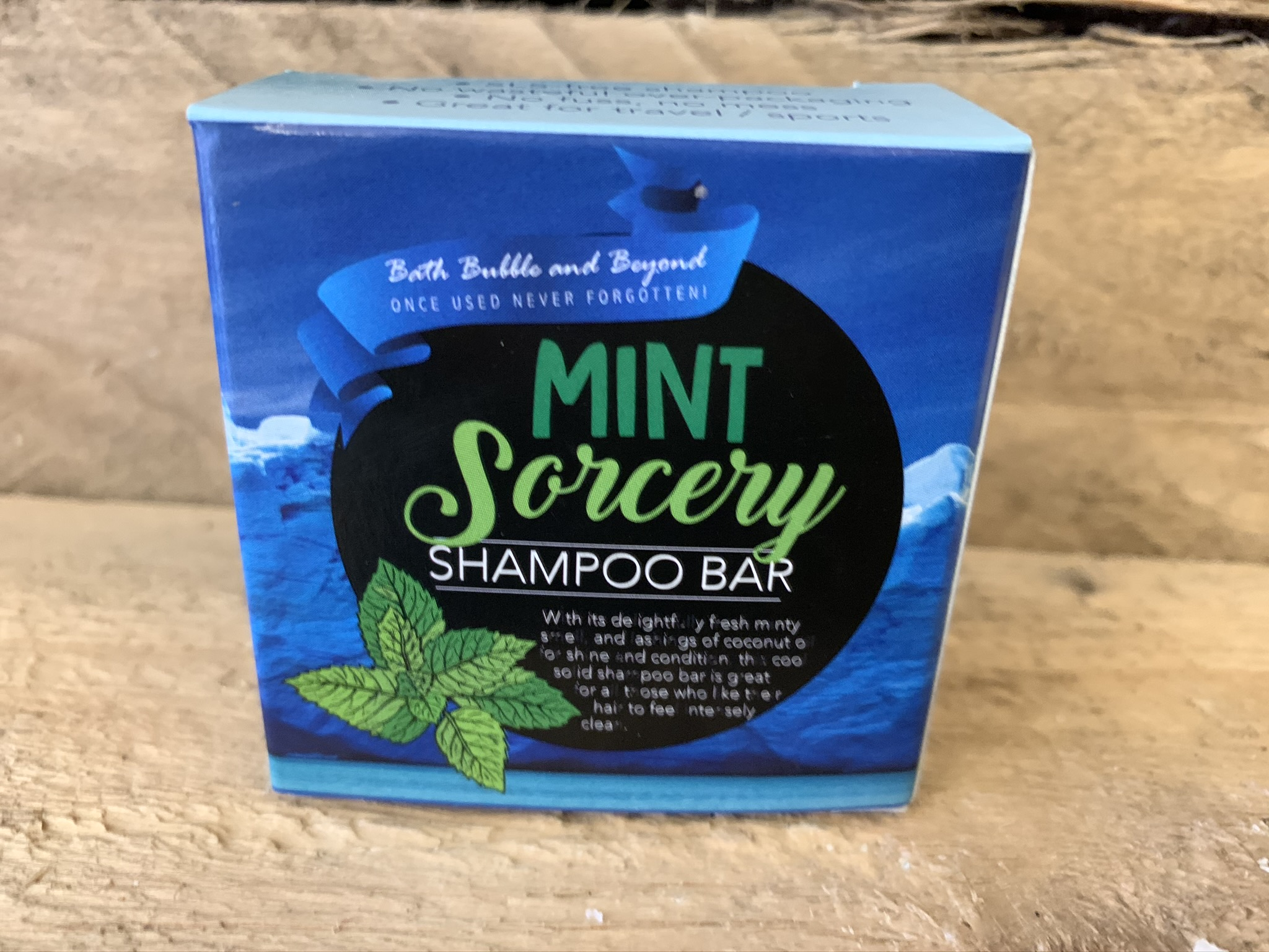 Mint Sorcery Boxed Solid Shampoo Bar
