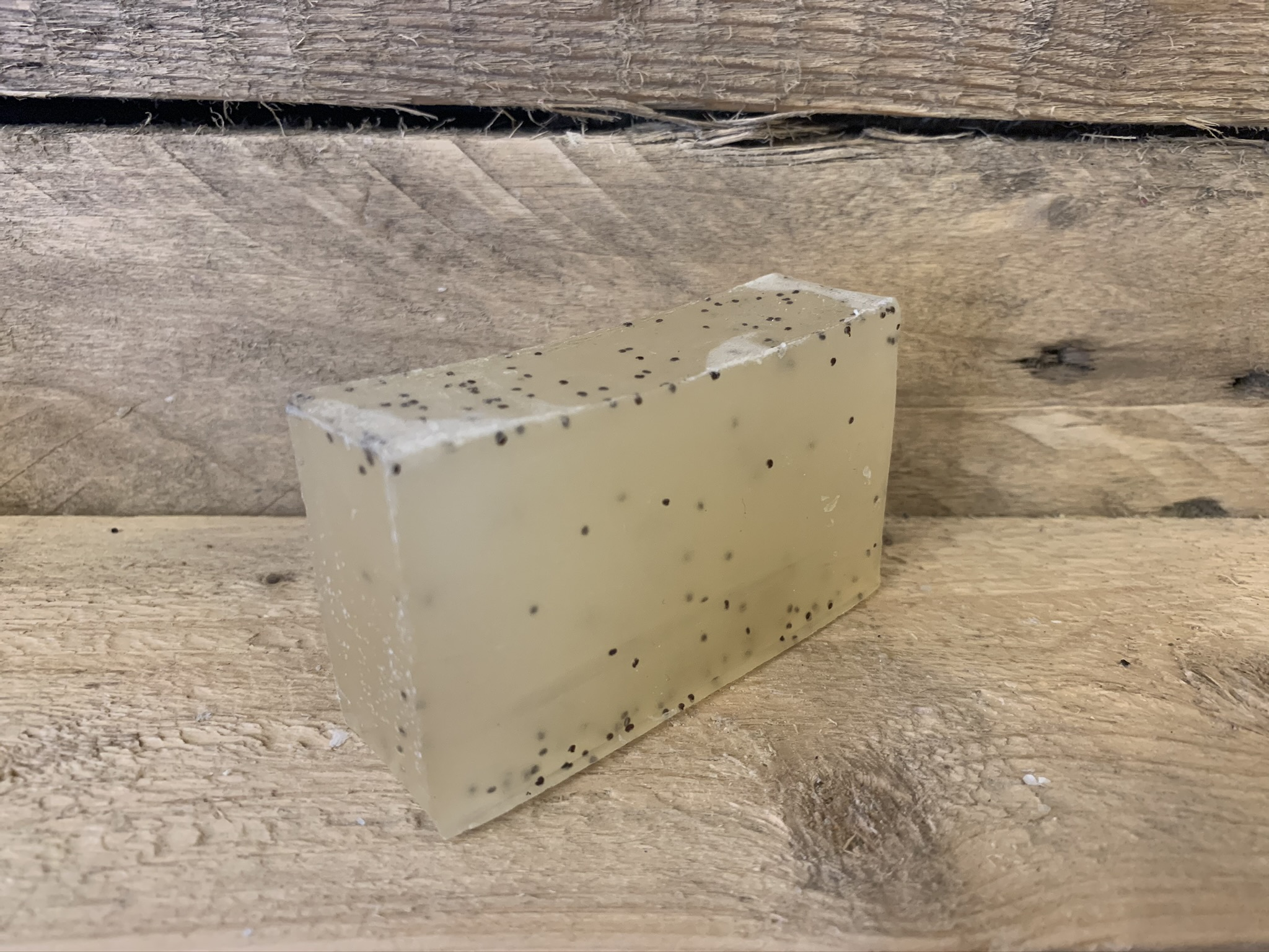 Tea Tree and Poppy Seed Organic Soap Bar