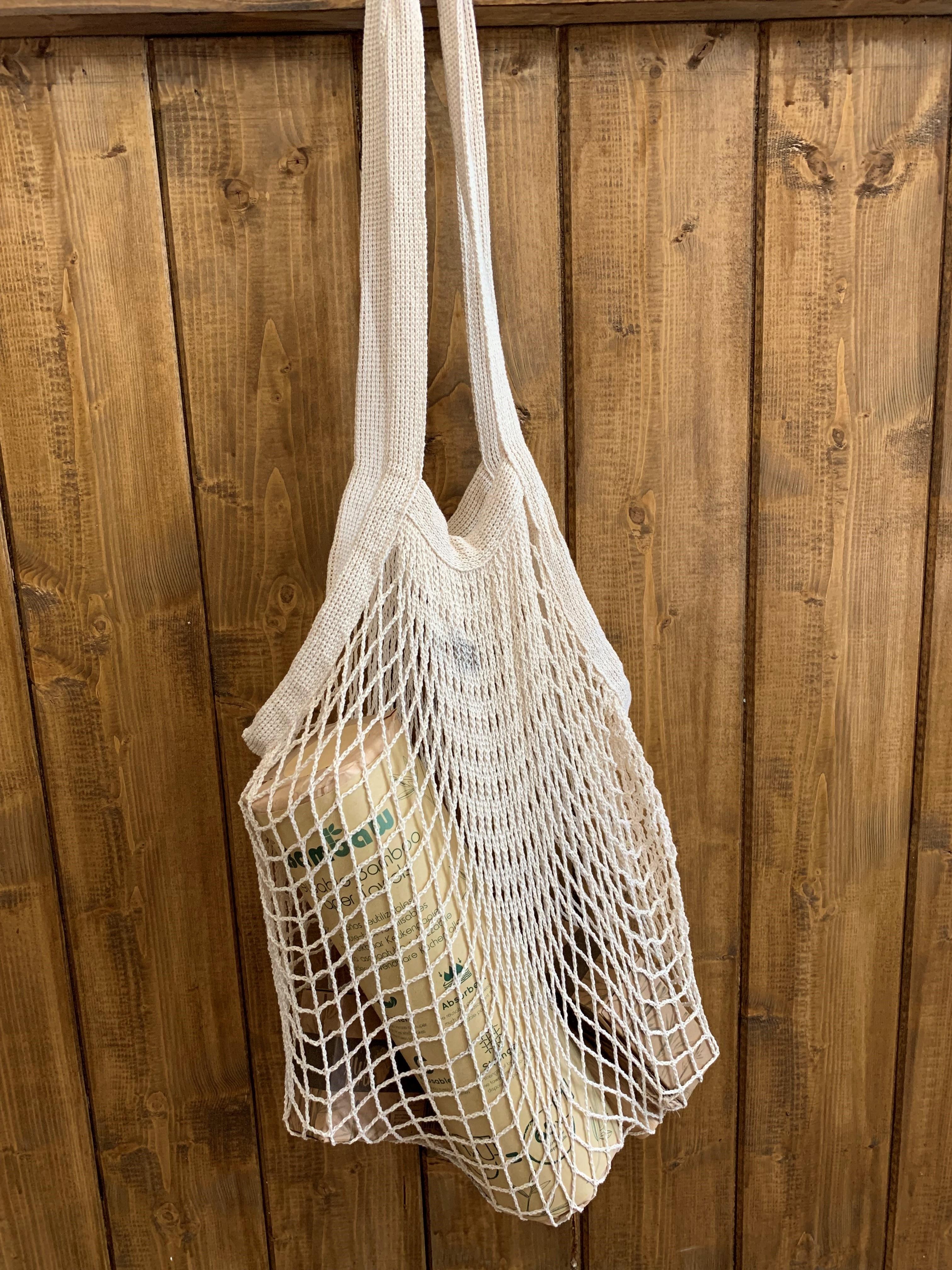 Reusable Grocery Cotton Mesh Bag