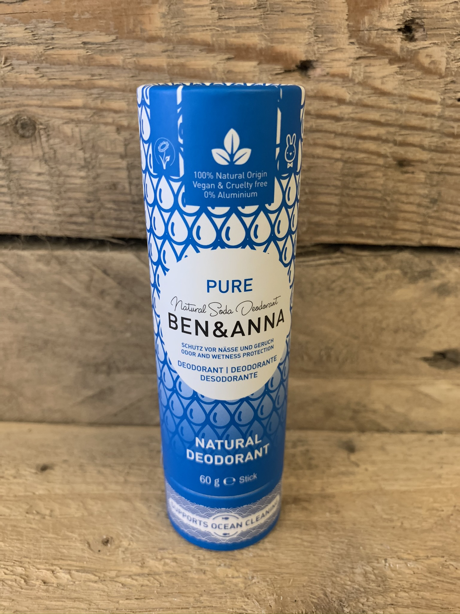 Ben & Anna Pure Natural Deodorant Stick