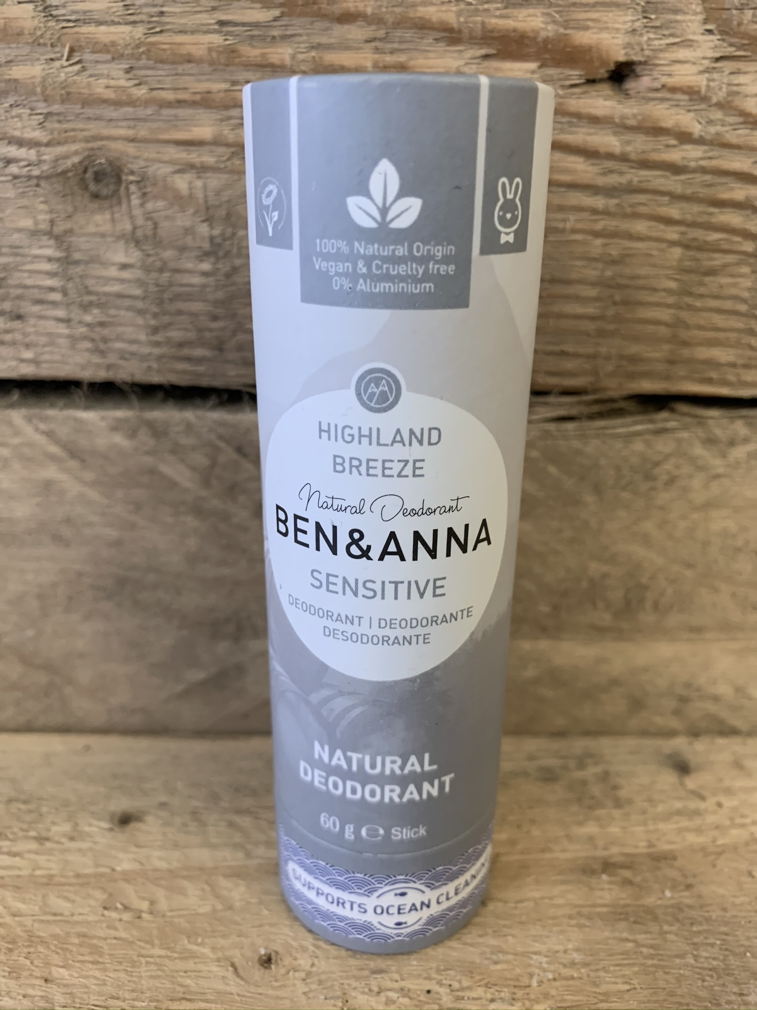 Ben & Anna Sensitive Highland Breeze Natural Deodorant Stick