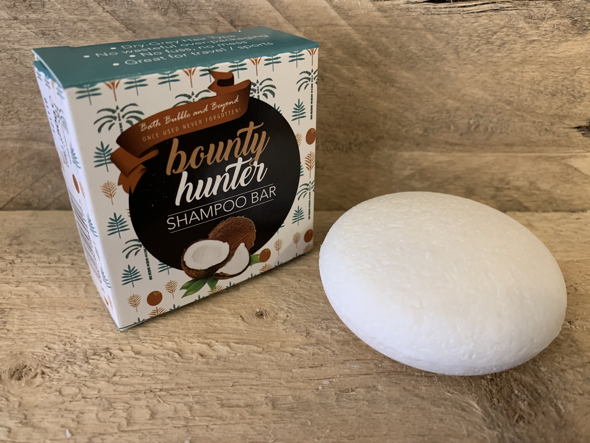 Bounty Hunter Boxed Solid Shampoo Bar