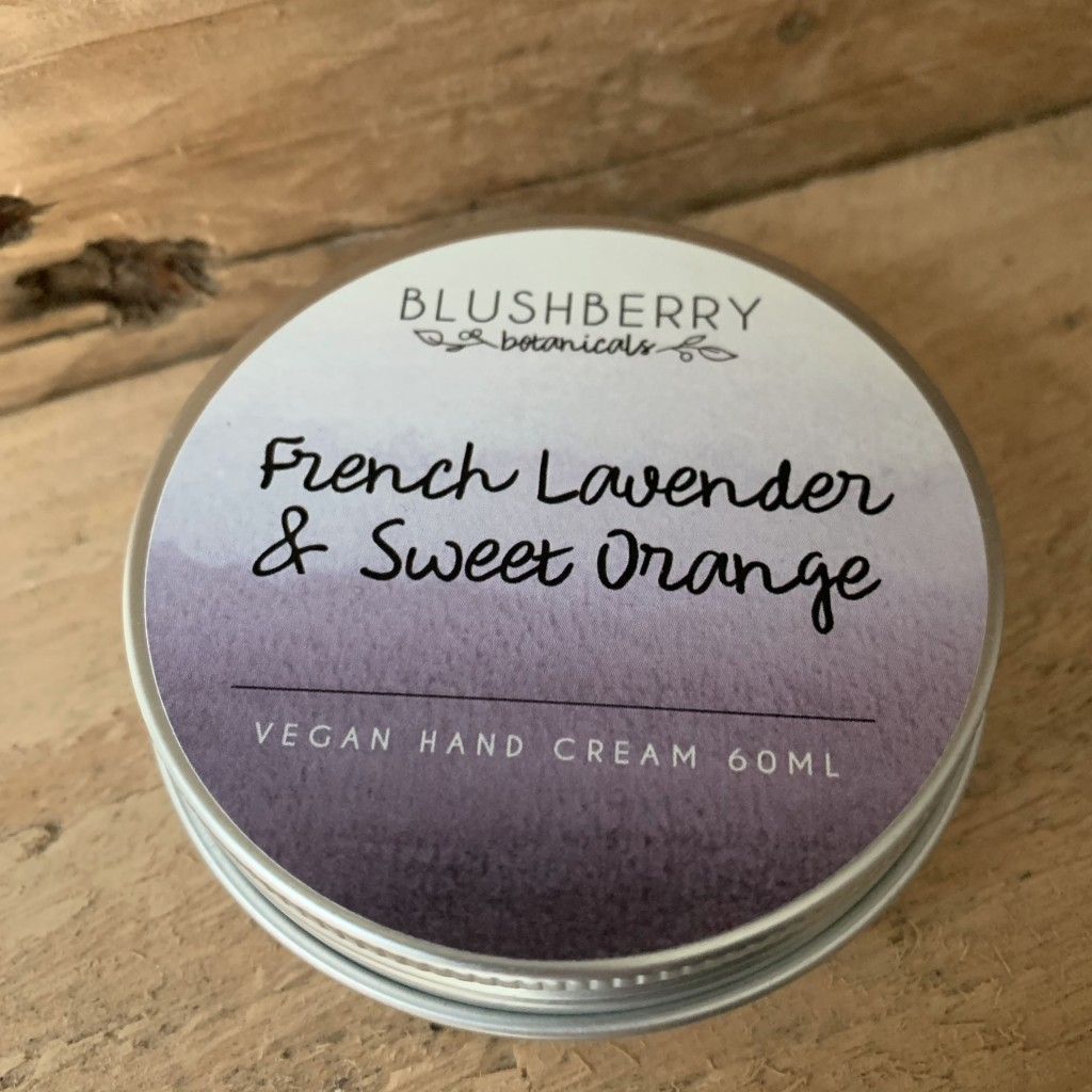 Lavender and Sweet Orange Hand Cream by Blushberry Botanicals