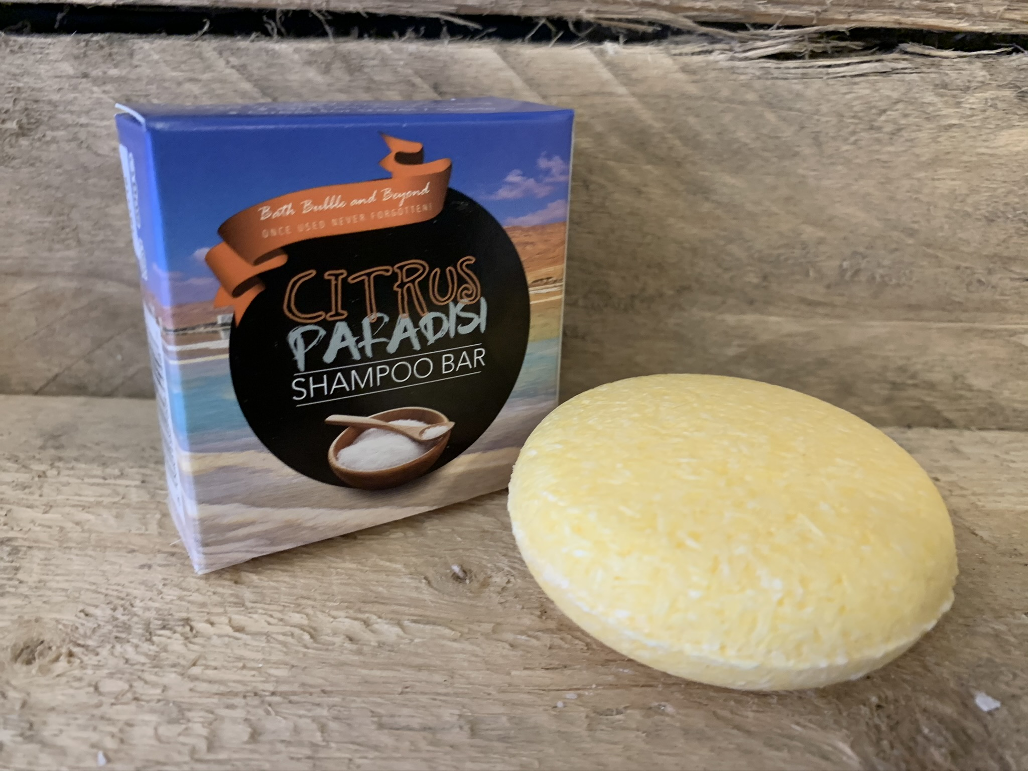 Citrus Paradisi Boxed Solid Shampoo Bar