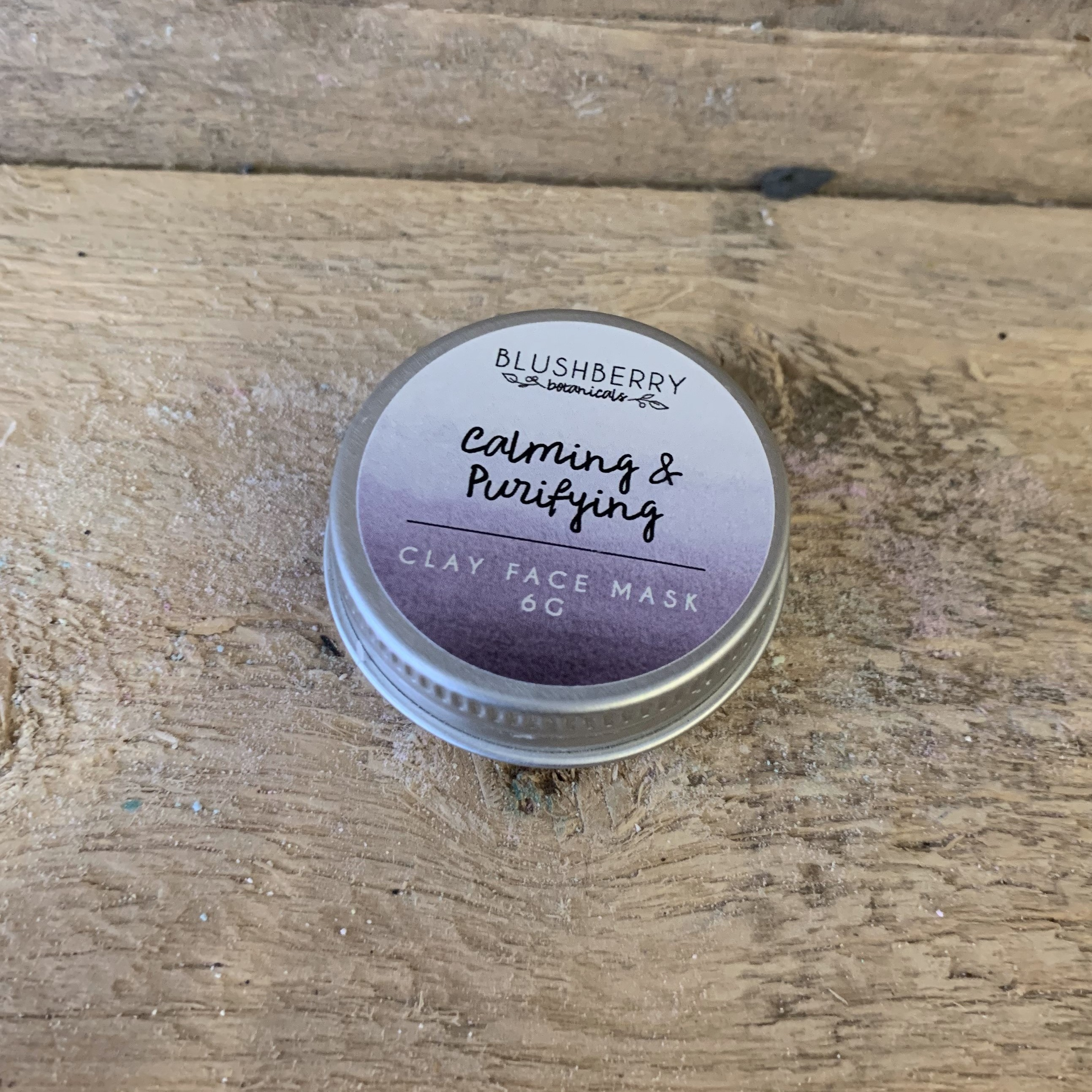 Calming and Purifying Blushberry Botanicals Clay Face Mask