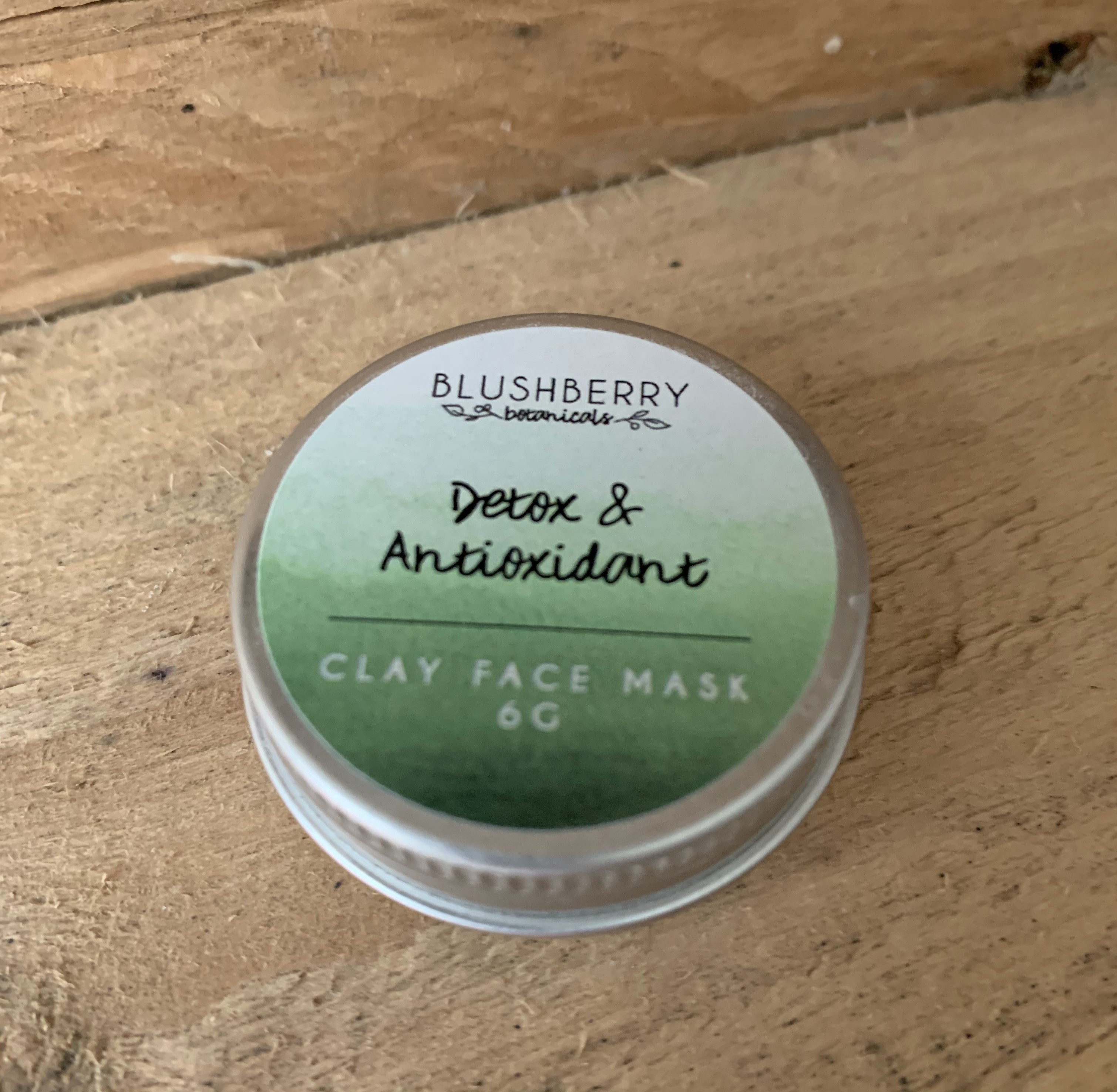 Detox and Antioxidant Face Mask by Blushberry Botanicals