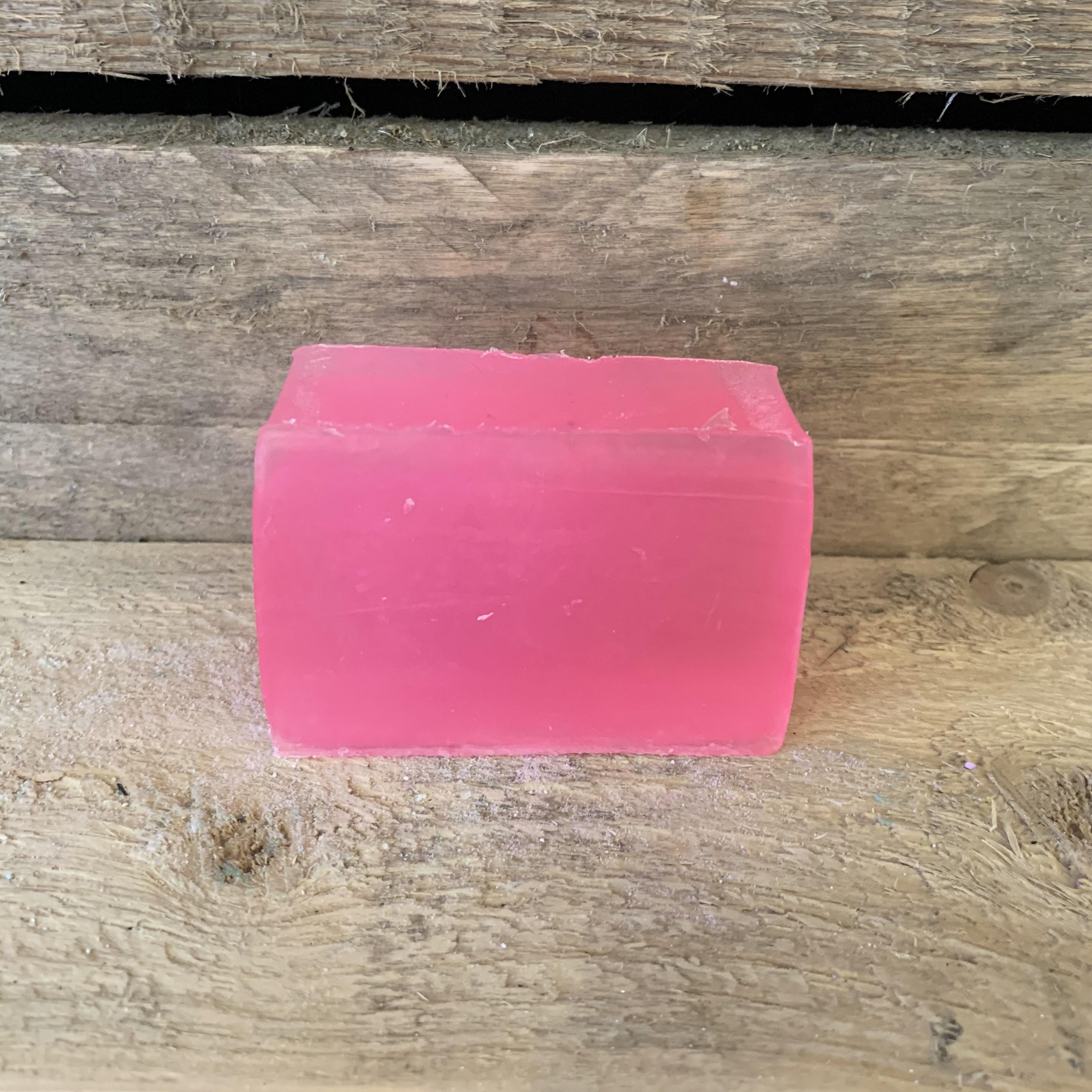 Pink Fizz Shaving Bar