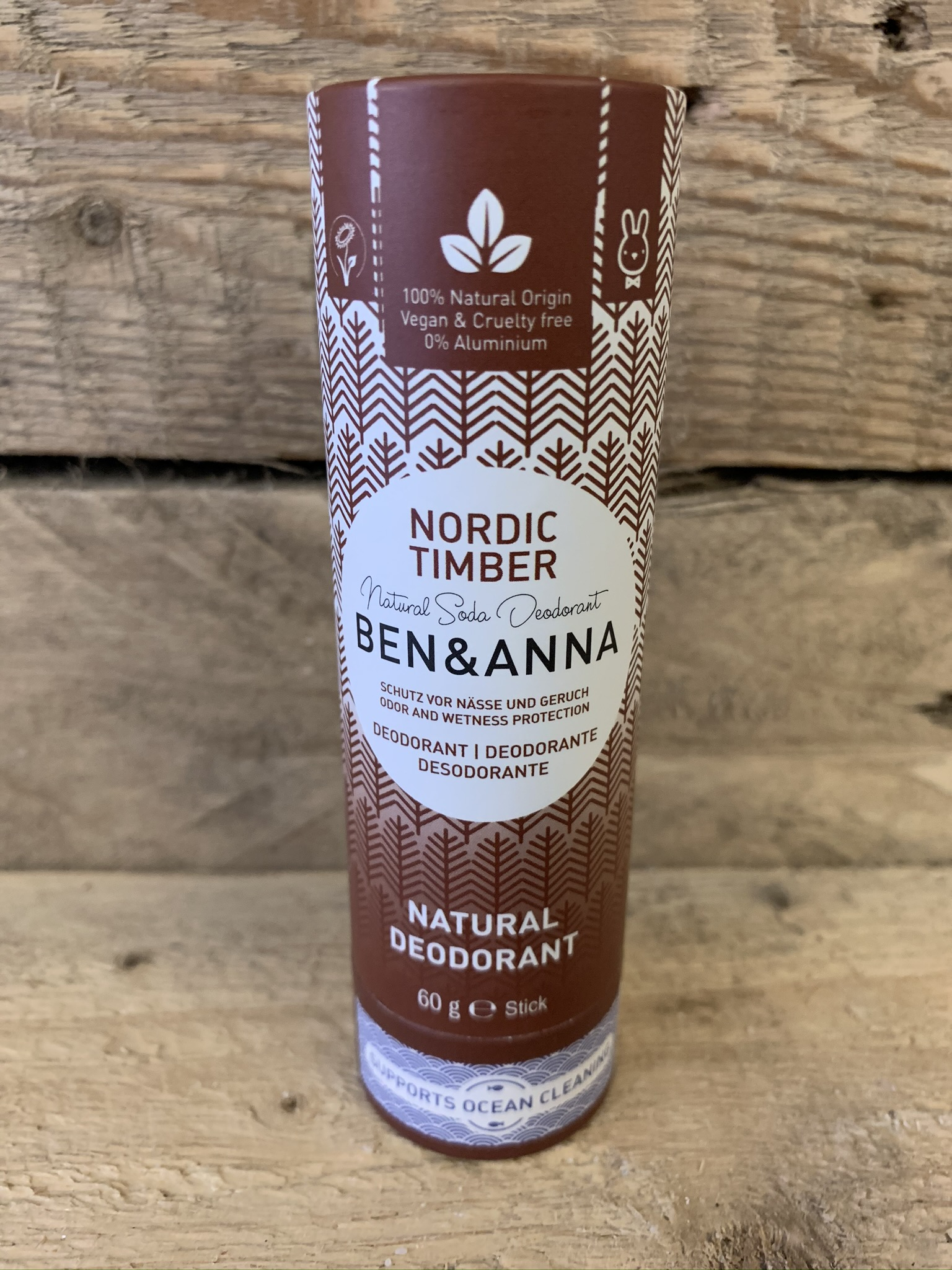 Ben & Anna Nordic Timber Natural Deodorant Stick