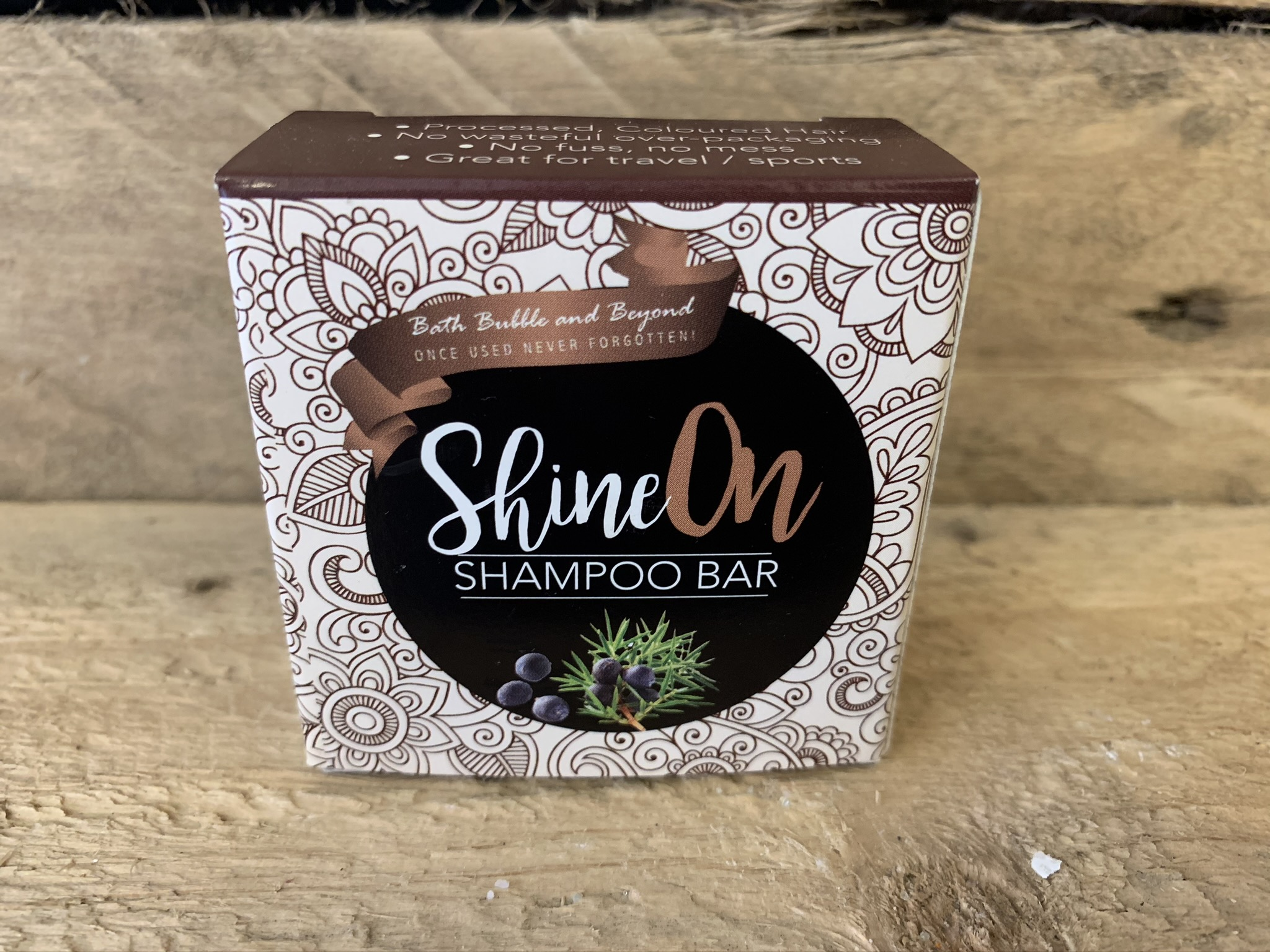 Shine On Boxed Solid Shampoo Bar