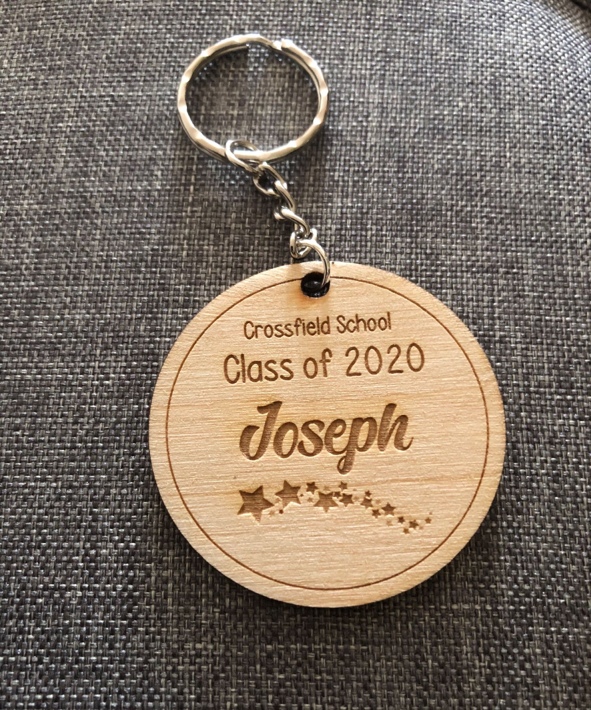 End of Term Keyring offer - £1 each when ordering 20 or more