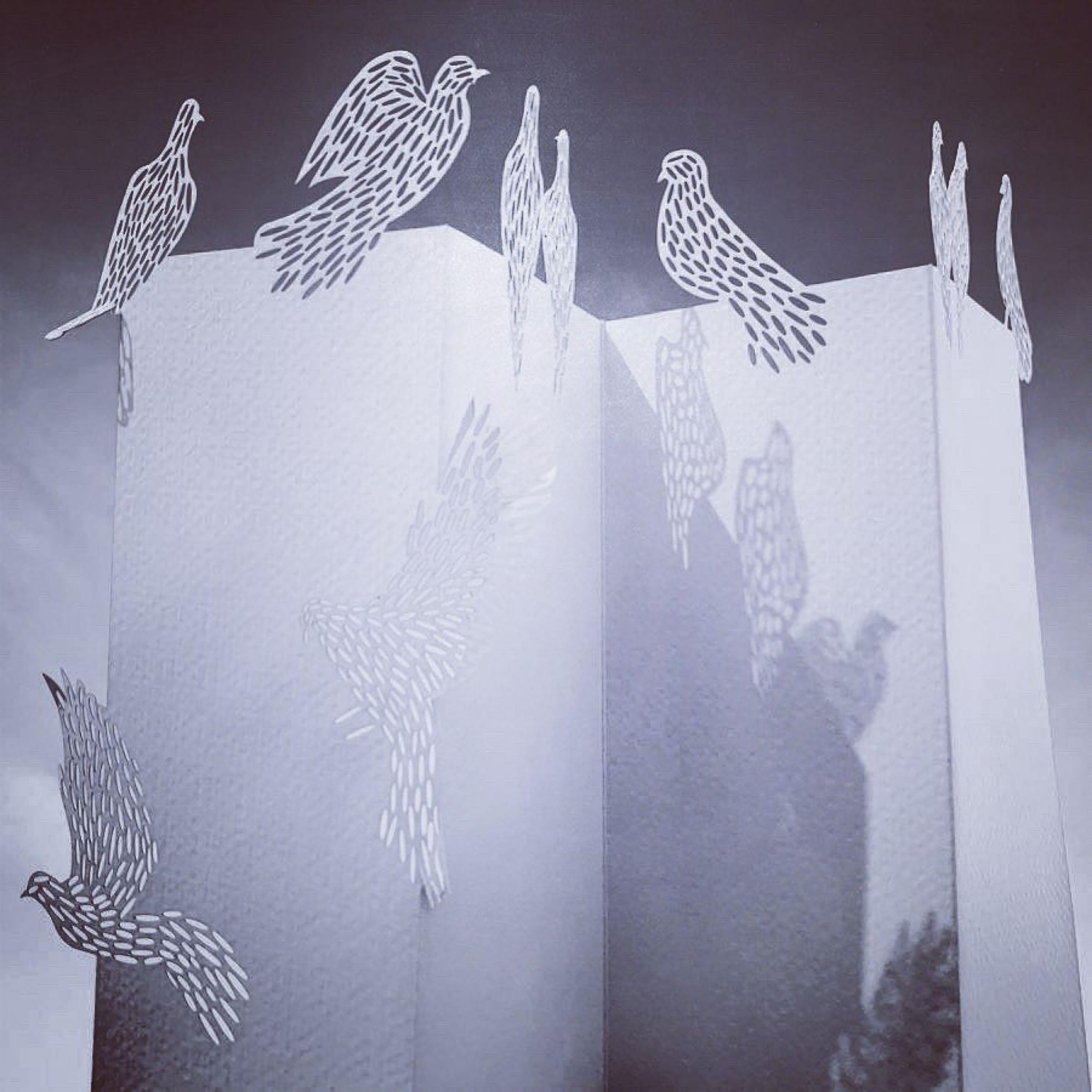 Paper Art 3D Kort – Duva