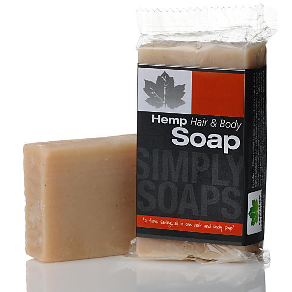 Simply Soap Hemp Hair and Body Shampoo