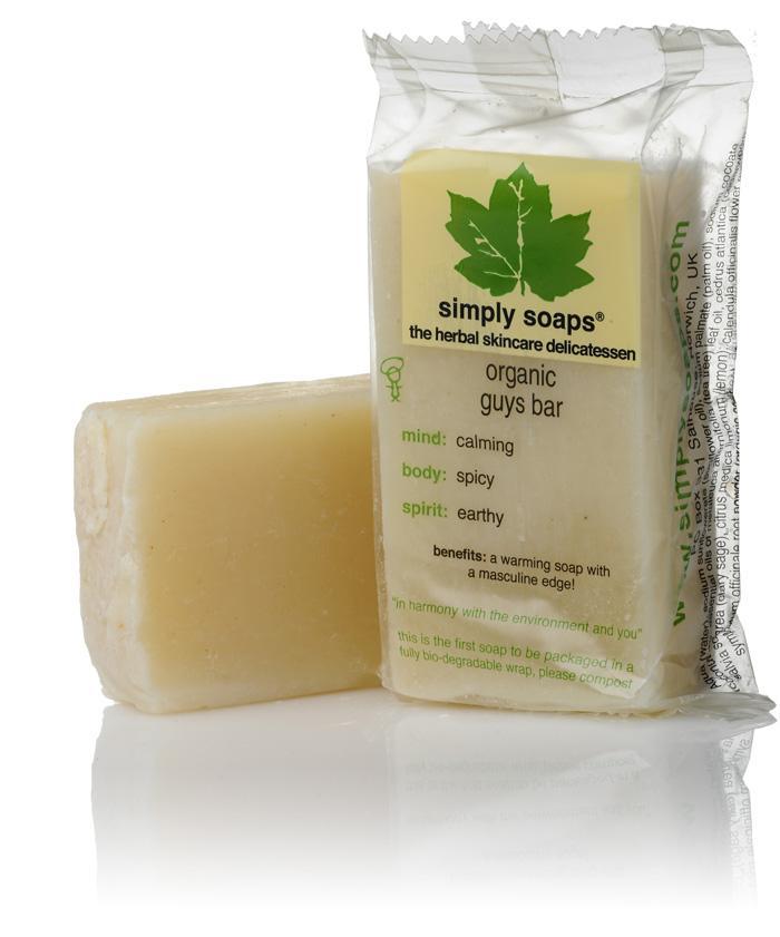 Simply Soap Guys Bar