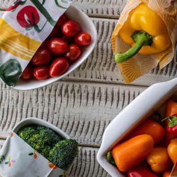 Reusable Beeswax Food Wraps - Large