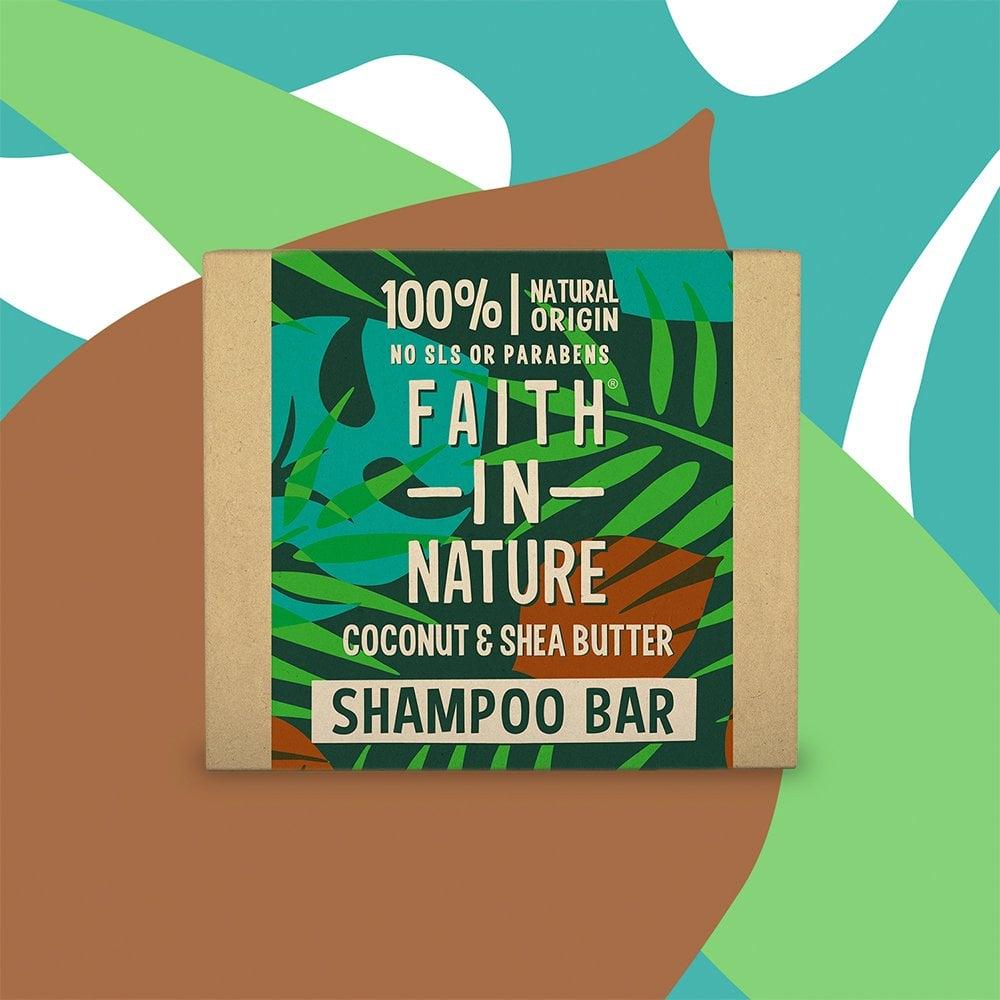 Faith in Nature Shampoo Bars - Various Fragrances