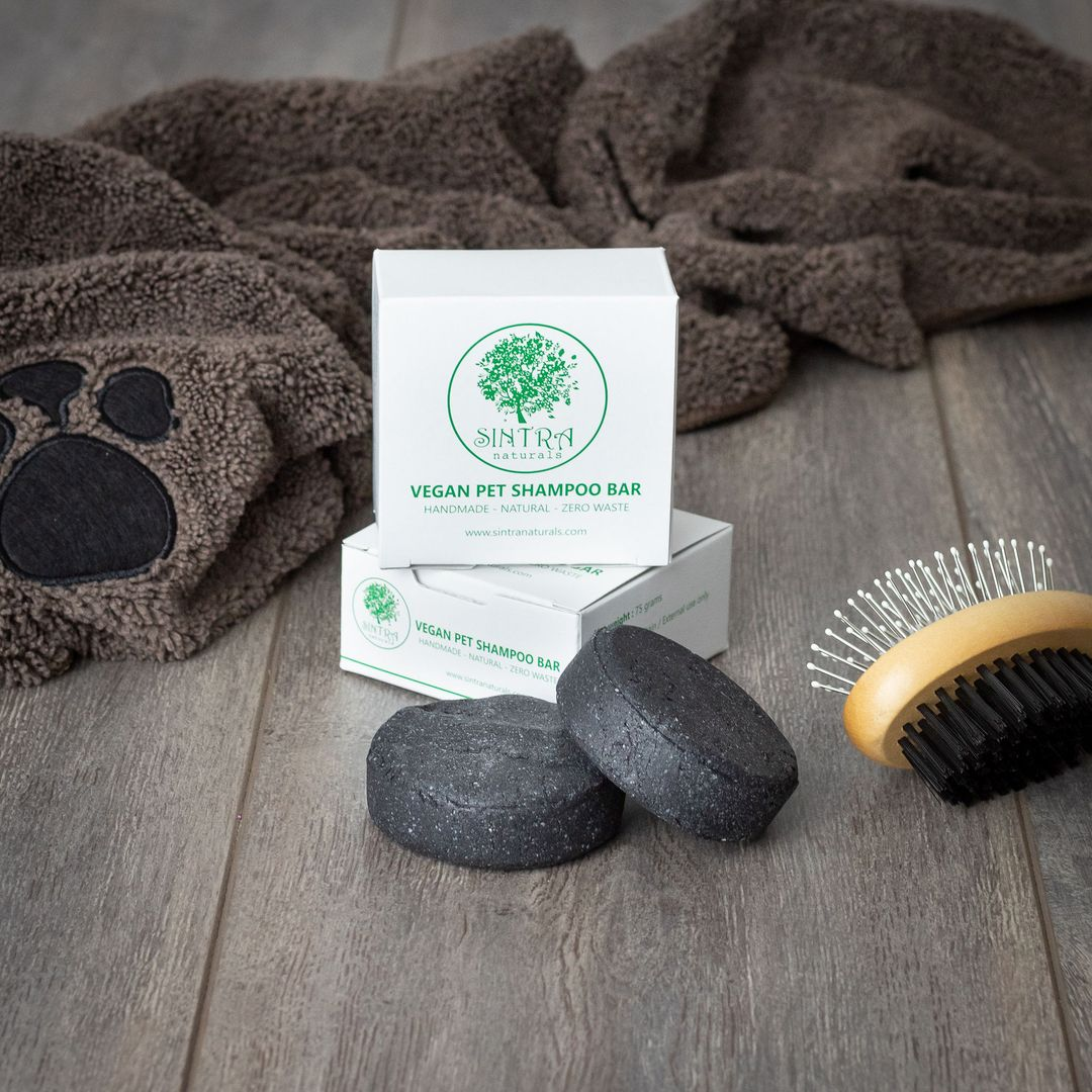Vegan Pet Shampoo Bar for Dogs and Cats