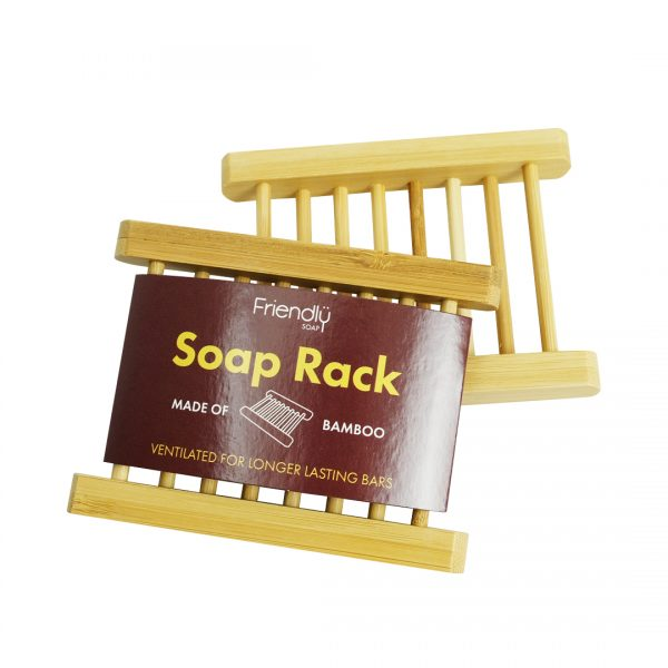 Bamboo Soap Rack by Friendly Soaps