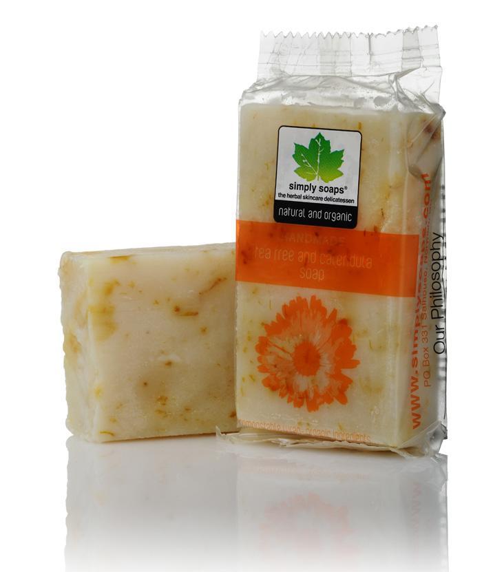 Simply Soap Tee Tree and Calendula Soap