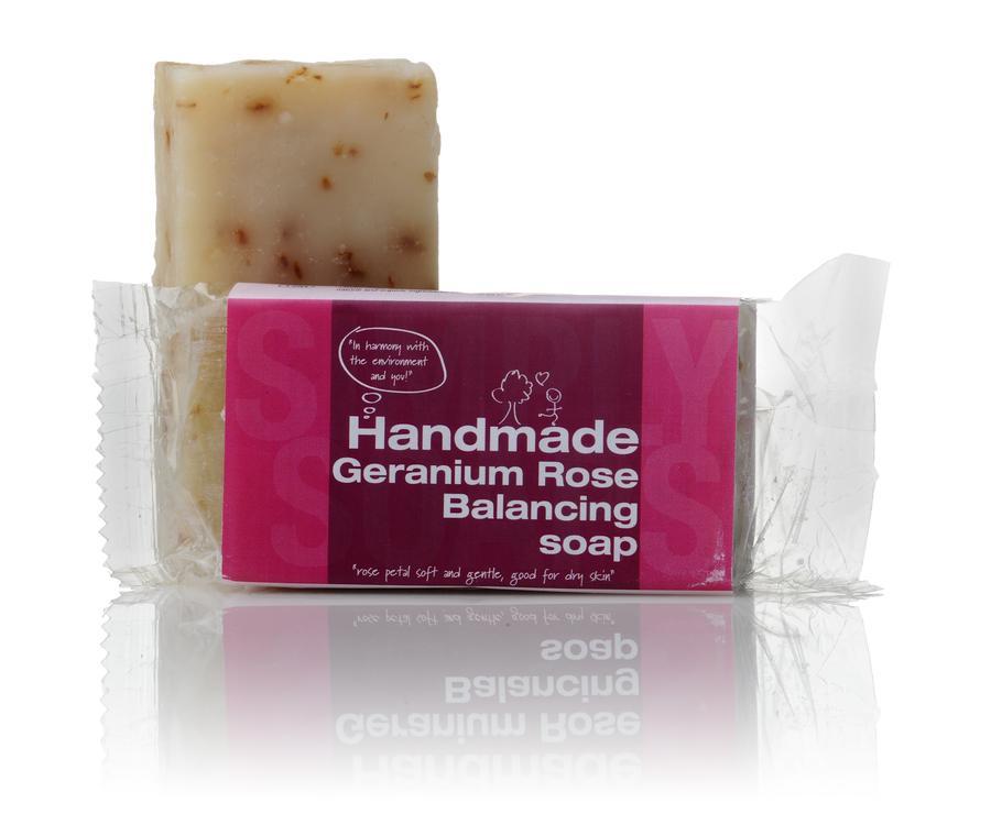 Simply Soaps Geranium & Rose Soap