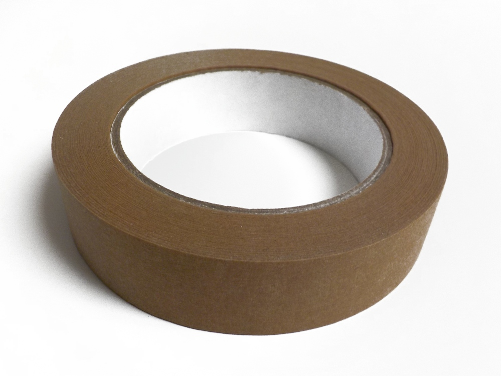 Kraft Tape 50m Recyclable in 2 Sizes