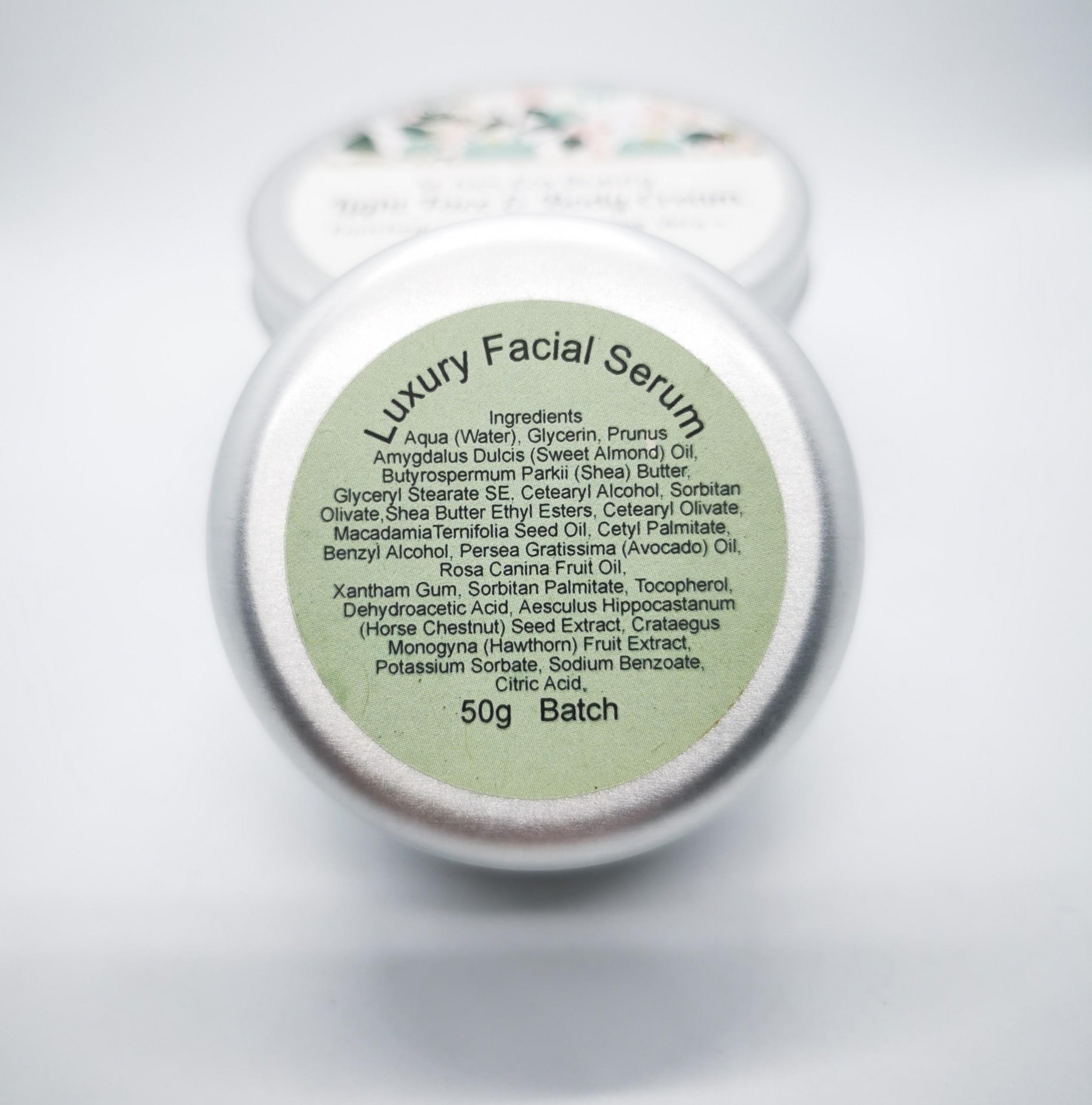 Luxury Facial Serum Pot