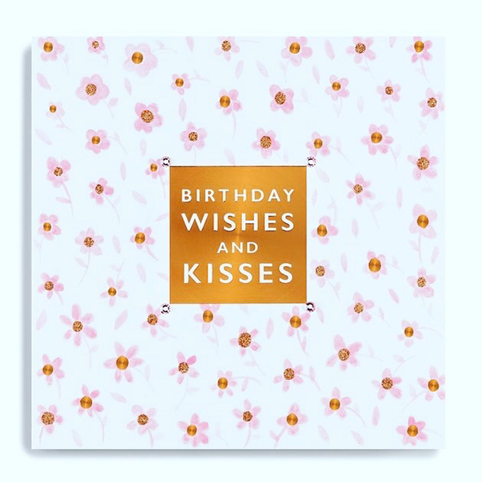 Janie Wilson birthday kisses card
